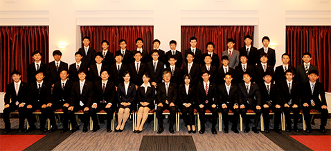 平成27年度入社式を開催しました...